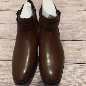 Kenneth Cole Half Tide Chelsea Boots Brown